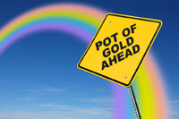 pot-of-gold sign